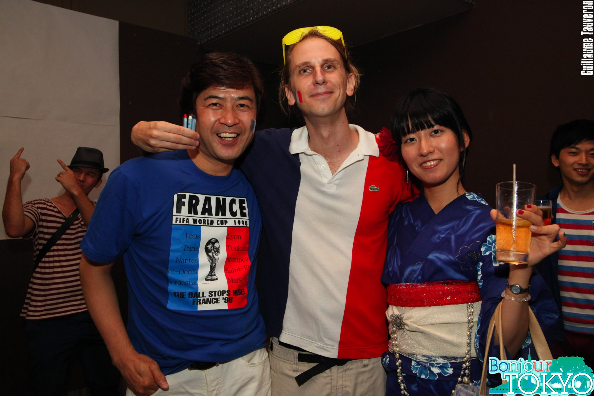 Les soirées tricolores avec Bonjour Tokyo