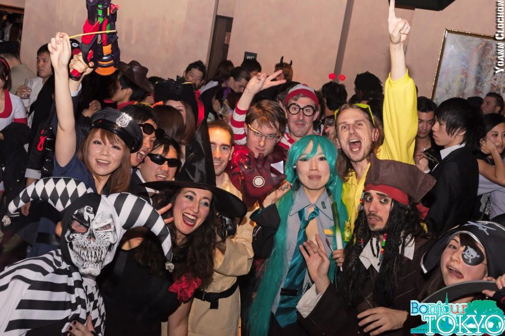 Bonjour Tokyo, tout le monde vient à la soirée d'Halloween