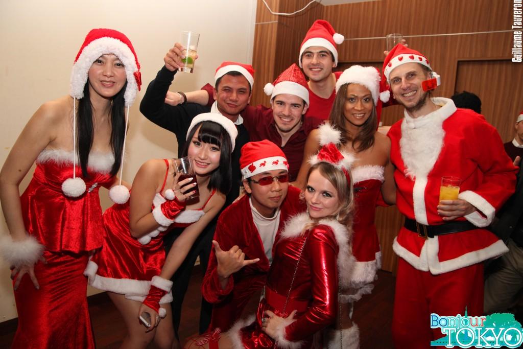 Soirée de Noël de Bonjour Tokyo