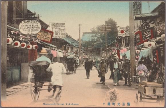 Motomachi-Dori in 1907.