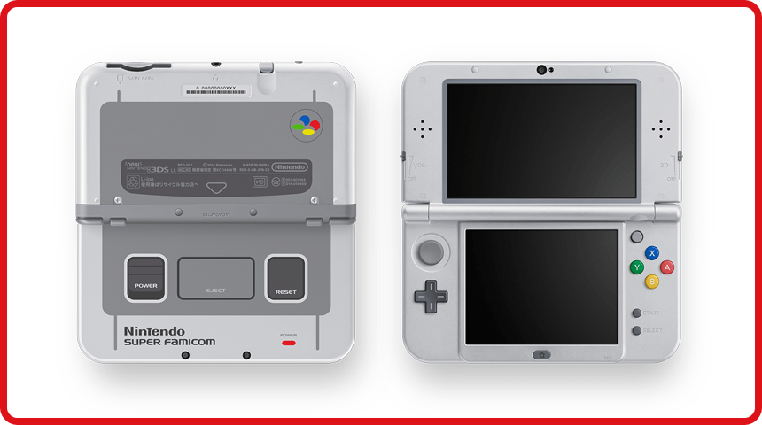 The SNES looking New 3DS XL