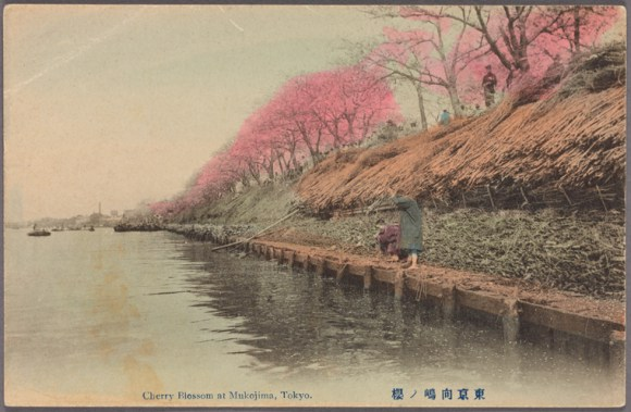 The Sumida river between 1907 and 1918.