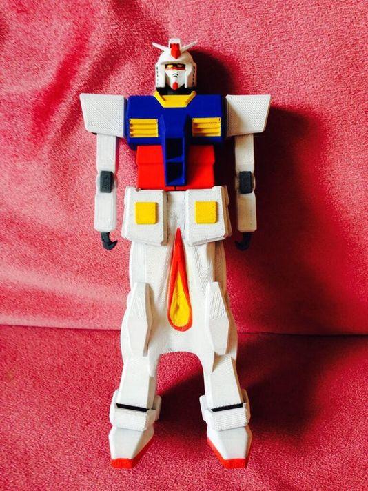 Gundaman of Megumi Igarashi