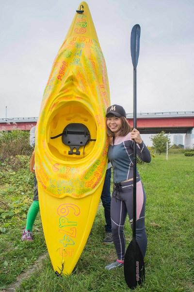 Megumi Igarashi's kayak