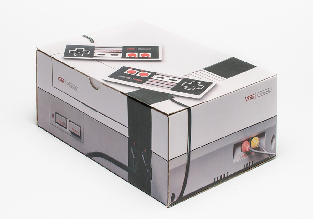 Nintendo Vans shoe box