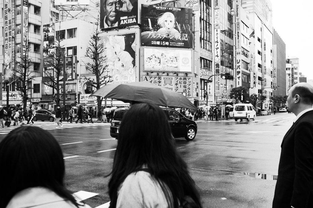 Photo de rue à Tokyo