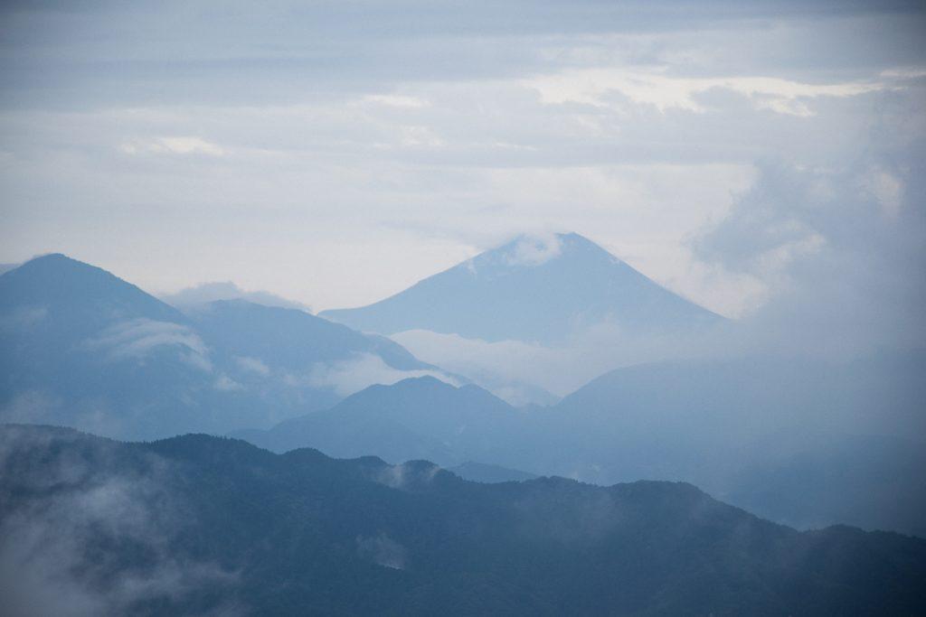 Mont Fuji depuis le mont Takao