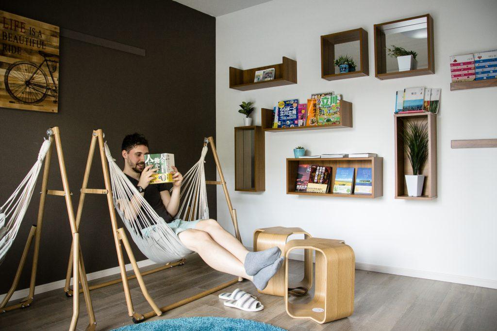 Un espace commun dédié au calme et à la sérénité. Parfait pour étudier ou lire tranquillement son livre.