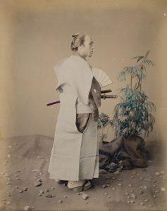 samurai colorisé