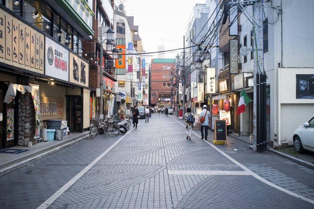 A street in Tachikawa