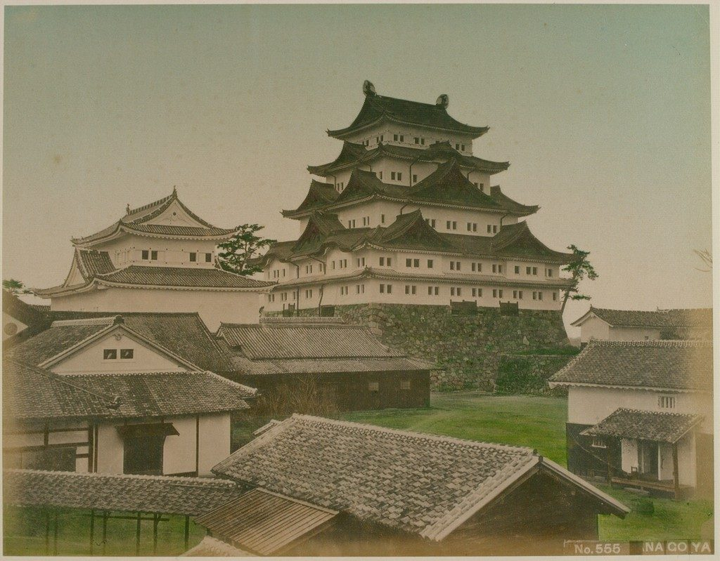 Nagoya Castle in 1880