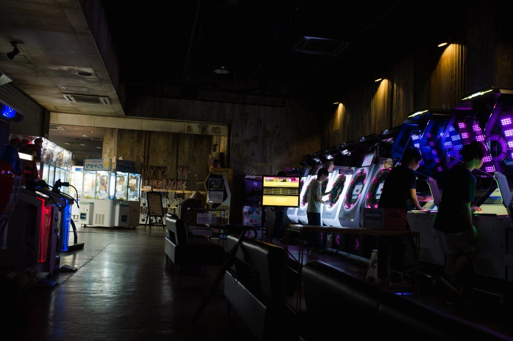 Kawasaki warehouse is an arcade.