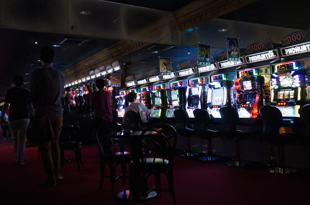 Casino games in Kawasaki Warehouse