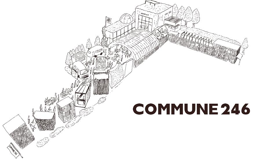 Le plan de Commune 246