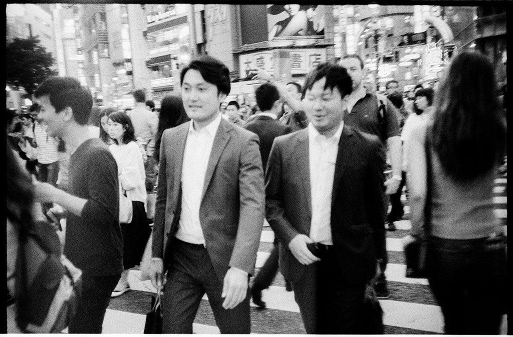 Deux salarymen à Tokyo