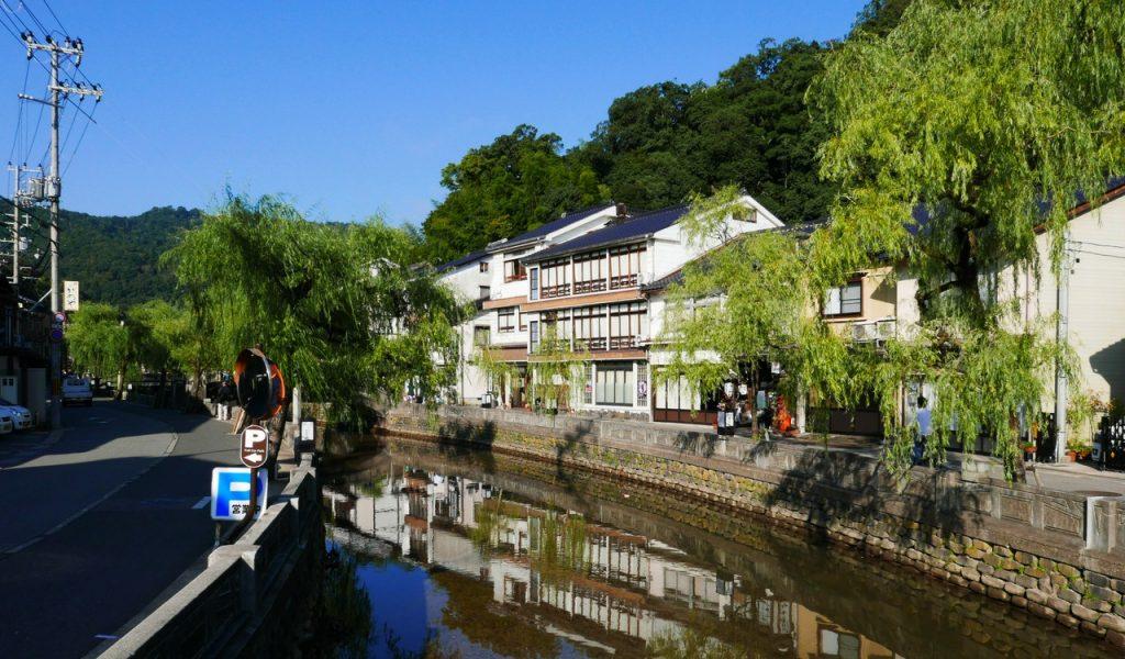 Le canal de Kinosaki.