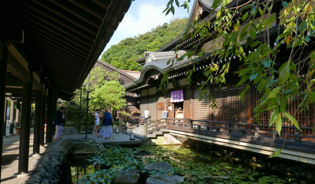Goshono-yu à Kinosaki