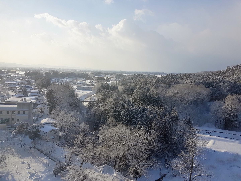 La nature de Hanamaki Onsen