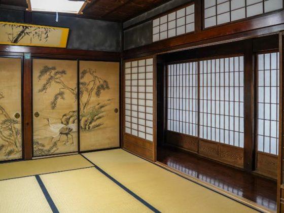L'intérieur de la maison Wada